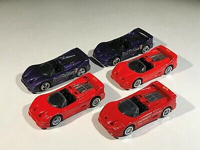 Hot Wheels Ferrari F50 Spider Lot of 5 Loose