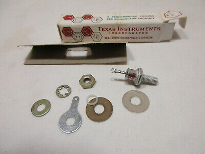 Lot Of 3texas Instruments New Old Stock 1n255 Silicon Power Rectifier Diodes