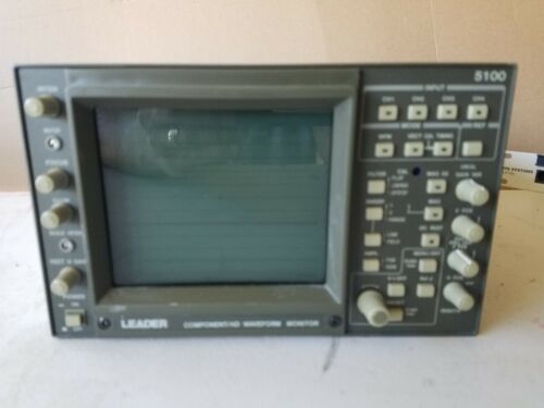 ***Leader 5100 Portable Benchtop 4-Channel Component/HD Waveform Monitor***