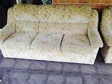 Set of 3 X 3-seater comfortable clean floral sofas Kellyville The Hills District Preview