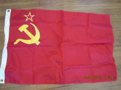 Vintage USSR Russian Flag   NEW