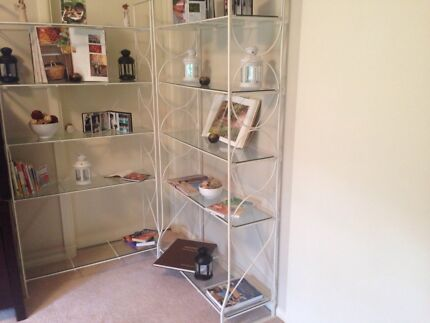 2 x 5 glass shelves excellent condition, only $250 for both. Belrose Warringah Area Preview