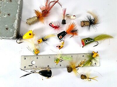 Salmon 4 x Bumble Bee Bomber Dry Fly Fishing Flies For Trout Steelhead /& Bass