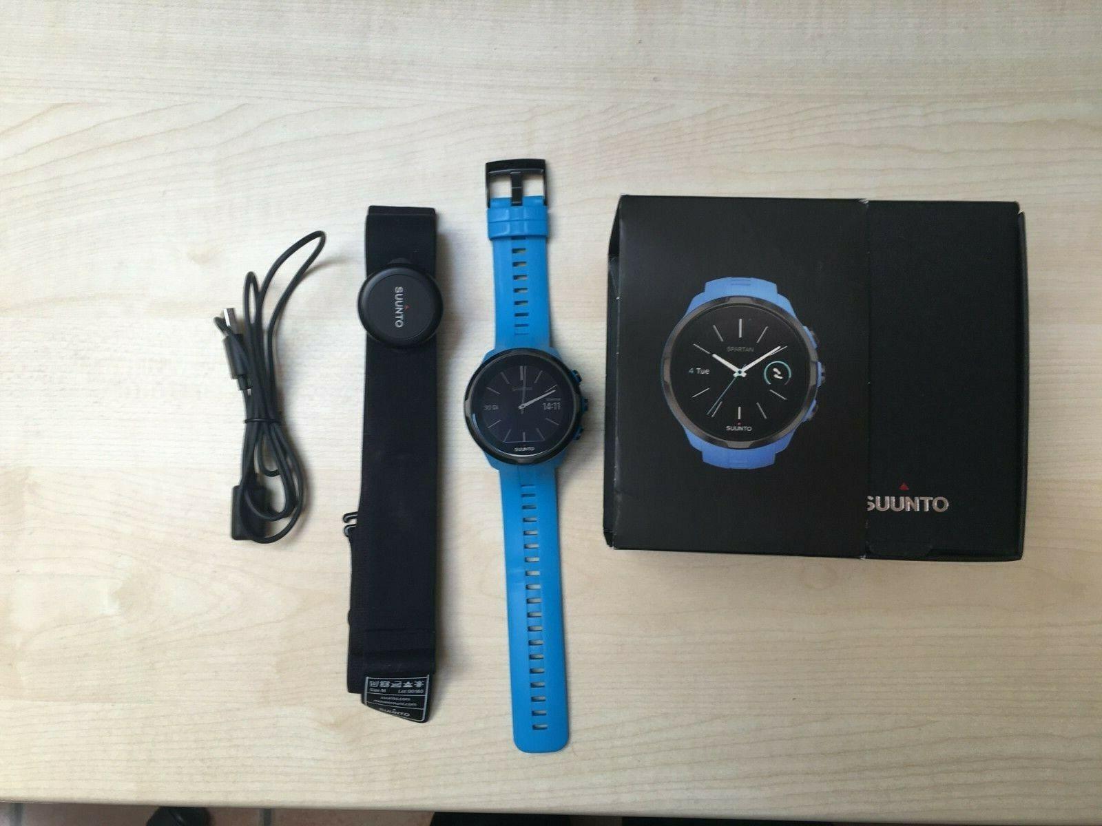 Suunto Spartan Sport Wirst HR Blue - Multifunktions GPS-Uhr