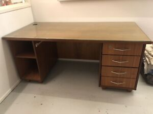 Quality solid timber desk