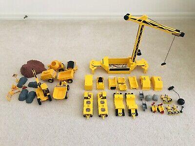 Vintage 1996 Mattel Hot Wheels Mega Rig Toy and New Jay Construction Set