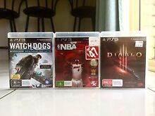 Immaculate condition PS3 Games Bellbird Park Ipswich City Preview