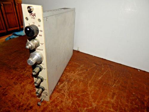 PRA Photo Chemical Research Associates 1762 100MHz Amp Discriminator NIM BIN Mod