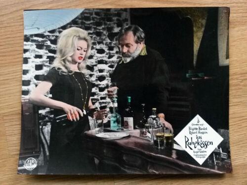 LOVE ON A PILLOW German lobby card #7 BRIGITTE BARDOT 1962 LE REPOS DU GUERRIER