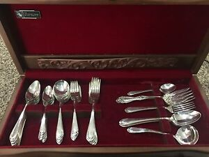 Lovelace Silver Cutlery Set - 63 pieces