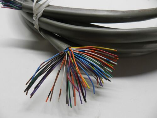 Vintage 50-Conductor Strand Wire Cat3 Telephone Copper Wire arts crafts 16+ ft
