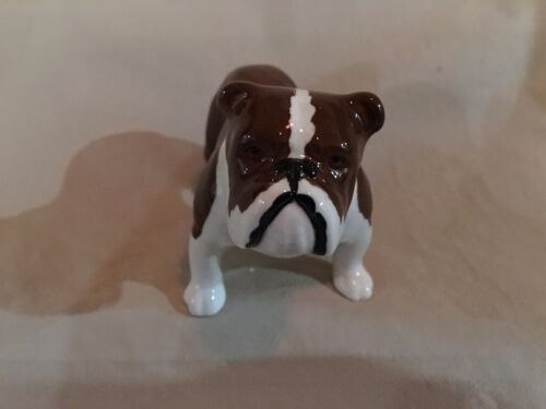 """Beswick of England Collectible - """"Bulldog"""" - """"Signed"""" - Mint Condition"""