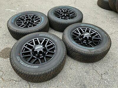 "Black 2019 F250 F350 Ford 20"" Wheels Rims Tires FX4 Lariat 2018 2017 King Ranch"