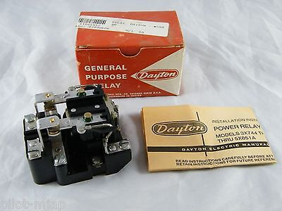 NEW ~ DAYTON ~ GENERAL PURPOSE RELAY ~ PART # 5X848A ~ DPDT ~ 240V ~ 60 HZ