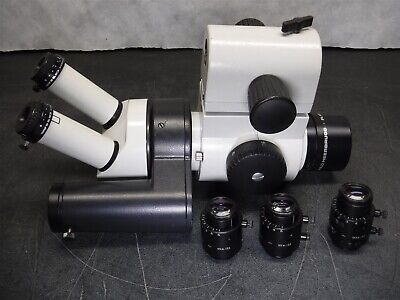 Used Leica Wild M8 Stereo Microscope Camera 404891 Photo Tube Plan 1x More Q9
