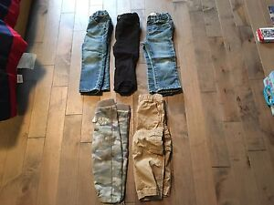 5 pairs of boys 2T pants