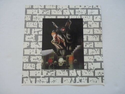 Roger Waters The Wall Live in Berlin LP Record Photo Flat 12X12 Poster