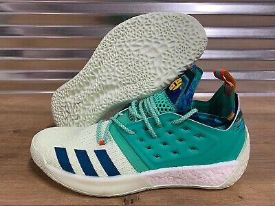 Adidas James Harden Vol.2 'Vision' All Star Basketball Shoes Green SZ ( B28106 )
