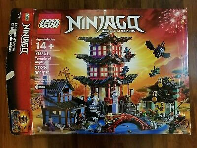 LEGO Ninjago 70751 Temple of Airjitzu Unsealed Box, but bags are sealed.