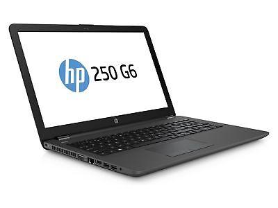 "HP 250 G6 15.6"" Dual Core 500GB 4GB USB 3.0 HDMI no DVD Windows 10 Cheap Laptop"
