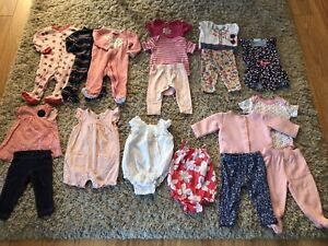 3 to 6 month old summer wear and sleepers
