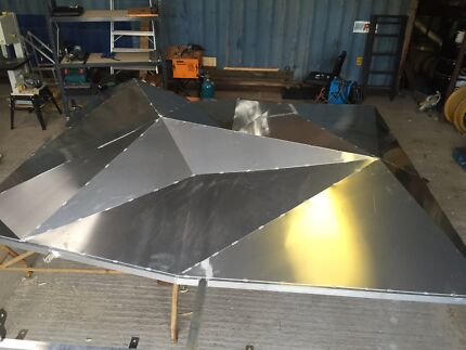 stainless steel and aluminium sheetmetal fabrication