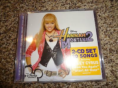 Hannah Montana 2 Disney Miley Cyrus Karaoke Series Cd Lyrics Booklet New Sealed