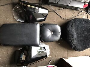 Honda Shadow VT 750c 2005 Motorcycle seat and wool cover ect Stanhope Gardens Blacktown Area Preview