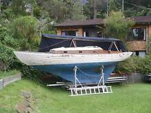 Free Yacht Folkboat complete with all parts. Bayview Pittwater Area Preview