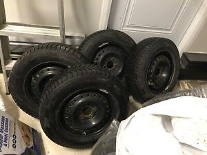 4 winter tires Pirelli ice zero 195 65 r15
