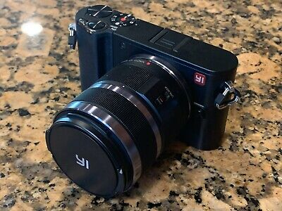 YI M1 4K 20 MP Mirrorless Digital Camera - (Kit with 12-40mm & 42mm f1.8 lens