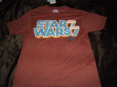 Star Wars '77 Retro Style Graphic Tee S Sm T-Shirt Adult NEW NWT -
