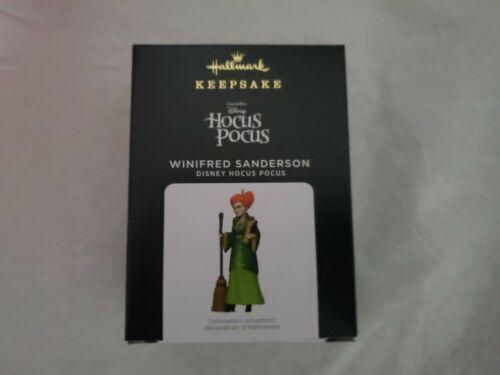 Hallmark 2021 Hocus Pocus Winifred Sanderson Disney Keepsake Ornament