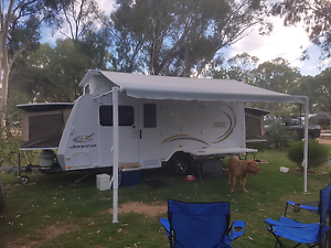 2010 jayco expanda with shower/toilet/full annex 31k ono Greenwith Tea Tree Gully Area Preview