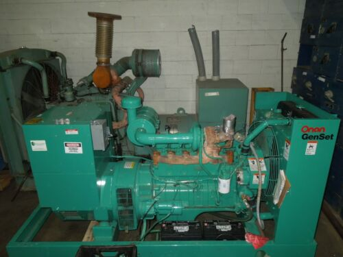Onan Cummins Generator 100kW 125KVA 208-240/416-480V 3ph 0.8pf 378 Hours Used