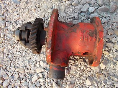 Allis Chalmers Wd Tractor Engine Distributor Drive Assembly Drive Gear Holder