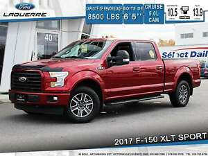 2017 Ford F-150 XLT **SPORT*CAM*BLUETOOTH**