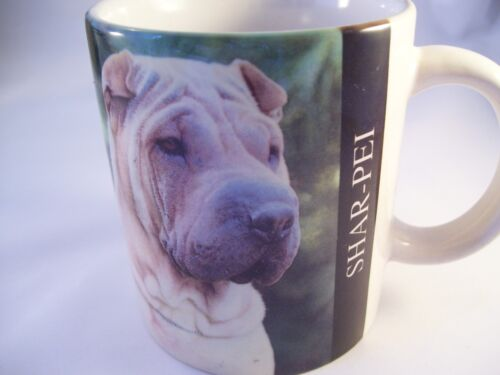 SHAR-PEI Collectible Dog Coffee Mug Cup 1994 Barbara Augello Orient