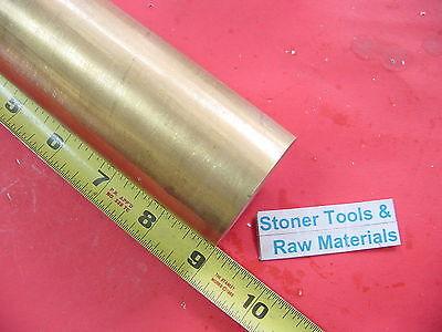 1-34 C360 Brass Round Rod 9 Long Solid 1.75 Diameter H02 Lathe Bar Stock