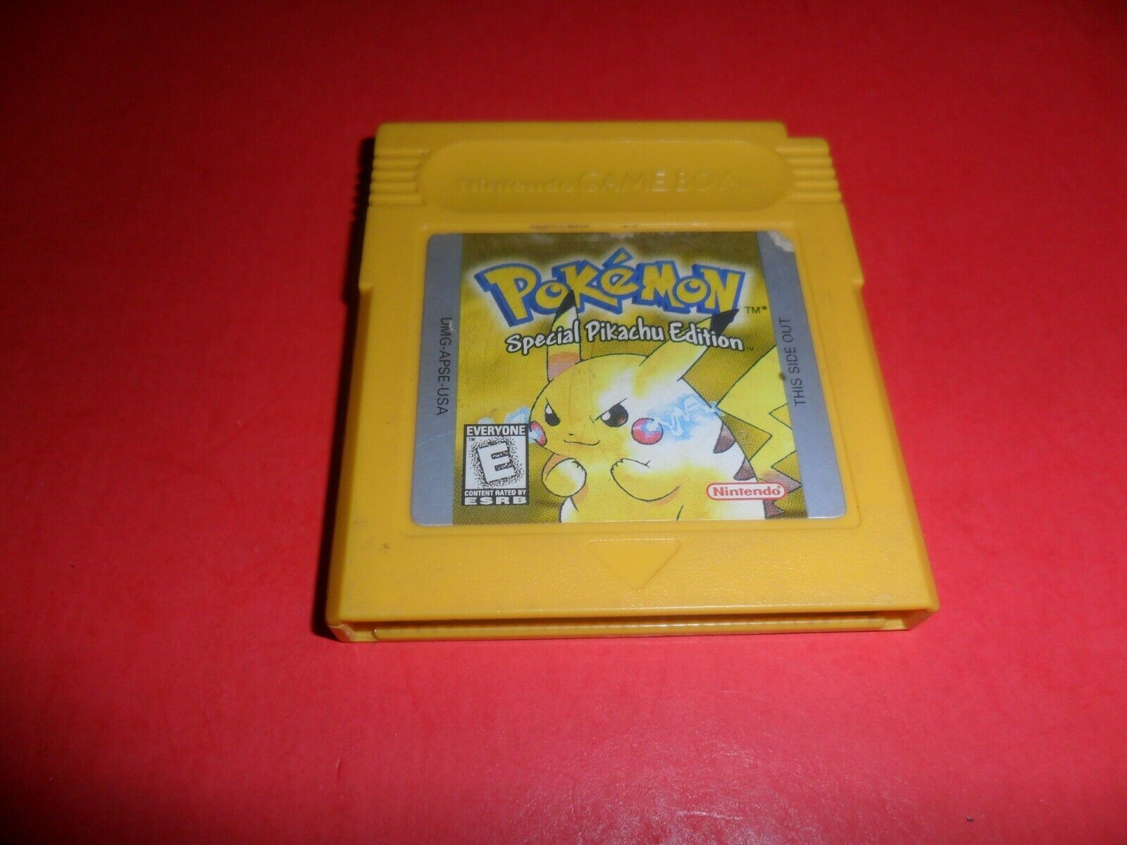 ORIGINAL Pokemon Yellow Version New Battery Can Save AUTHENTIC Game Boy Color - $39.99