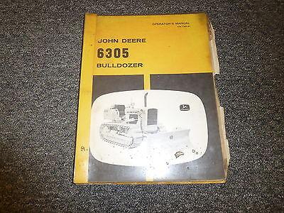 John Deere 6305 Bulldozer Technical Service Repair Manual