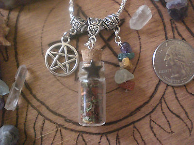 Spell Bottle (Witch Lucky Love Sex Spell Potion Bottle Talisman Pendant Luck Charm )