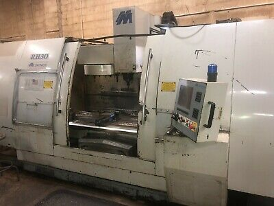 Milltronics Rh30 3-axis Cnc Vertical Machining Center New 2005