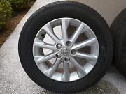 TOYOTA CAMRY/AURION ALLOY WHEELS AND TYRES - SET OF4 Upper Mount Gravatt Brisbane South East Preview