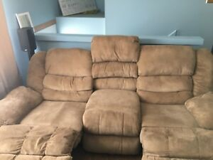 La-z- Boy Double recliner sofa - used
