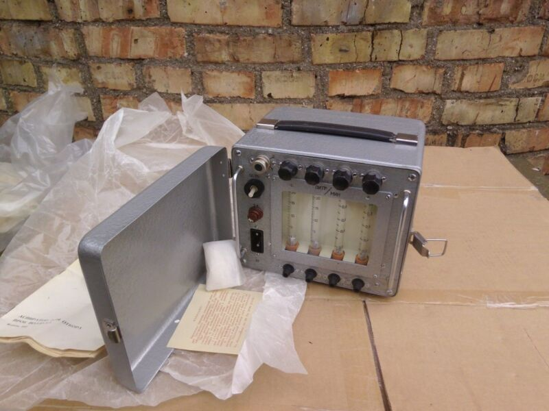 Air Sampler apparatus for analyzing USSR Vintage