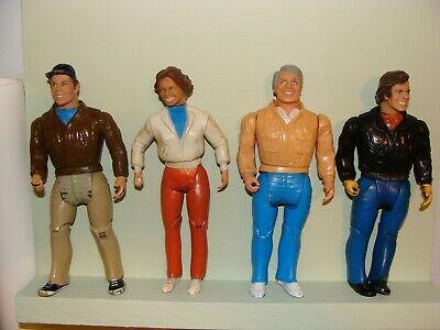 "A-Team 1983 6"" Figures Vintage Lot of 4 Galoob"