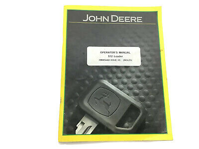 John Deere Operators Manual 512 Loader Omw54460 Issue H0 2010 Stock 4f