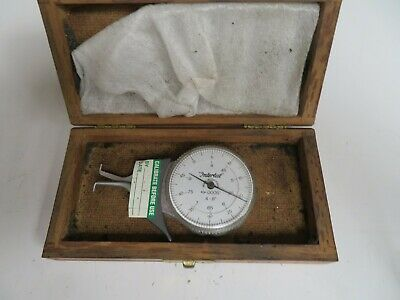 Dyer .4-.8.0005 Intertest Id Groove Gage With Case - Oa14