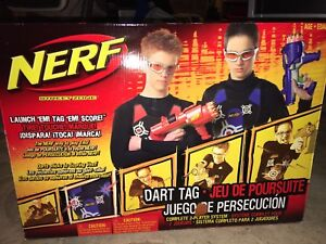 Nerf  Dart TAG complete 2 player system